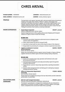 Import Export Resumes Logistics Import Export Specialist Resume Template