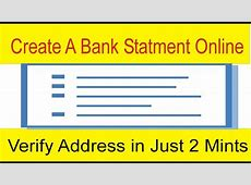 Online Address Verification in Just 2 Mints   Fake Bank