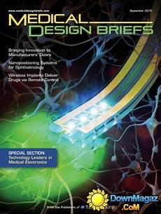 Medical Design Briefs Medical Design Briefs Usa September 2015 187 Download Pdf