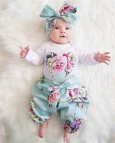 newborn coats for printed 2020 newborn kid baby clothes set floral sleeve