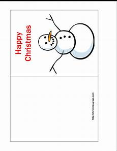 Quarter Card Free Printable Quarter Fold Christmas Cards Printable