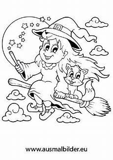 Ausmalbilder Zauberer Und Hexen Ausmalbilder Hexe 02