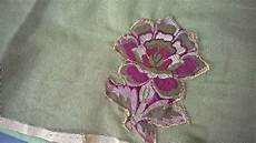 Embroidery Designs Hand Embroidery Designs Applique Work On Net Cloth