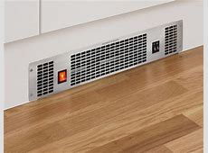 Stainless Steel plinth heater   Kitchen fixtures & fittings   Howdens Joinery
