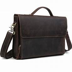 Designer Pouch Bag Mens Tiding Designer Mens Real Leather Briefcases Carry On