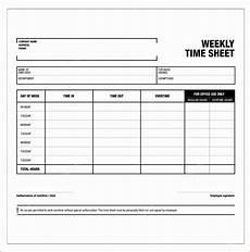 Free Printable Timesheet Templates 6 Excel Template For Timesheet Excel Templates Excel