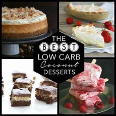 the best low carb coconut dessert recipes all day i