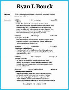 Carpentry Resume Sample Cool Tips You Wish You Knew To Make The Best Carpenter