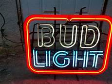 Bud Light Neon Vintage Bud Light Neon Sign For Sale In Campbell Ca Offerup