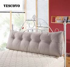 vescovo cotton seat cushion wedge pillow for bed backrest