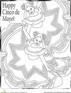 cinco de mayo coloring page education com