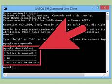 Start Database How To Send Sql Queries To Mysql From The Command Line 9