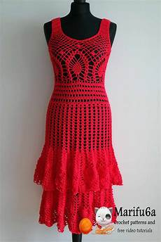 crocheted dress patterns just in time for