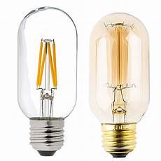 Light Bulb Shaped Lamp T14 Led Filament Bulb 40 Watt Equivalent Vintage Light