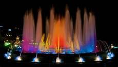 Barcelona Night Light Show Plaza Espanya Barcelona Barcelona Home