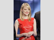 Spotted! Emma Stone Adds Sydney Evan Earrings to Fiery Red