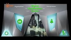 Accenture Digital Accenture Digital Acceleration Center Set 3d Projection