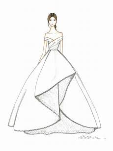 Dress Designing Sketches Exclusive Get A First Look At The Fall 2018 Bridal