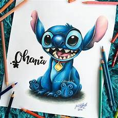 drawing of stitch from disney s lilo and stitch by jess