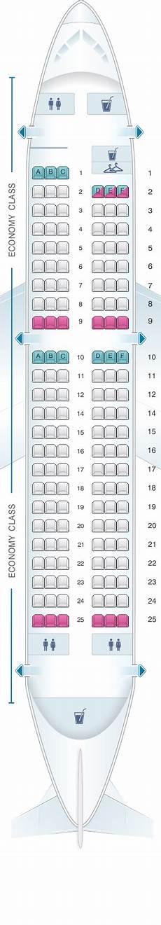 Iberia 2622 Seating Chart Seat Map Iberia Airbus A319 Single Class Seatmaestro Com