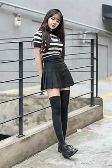 black ulzzang moda koreana moda coreana