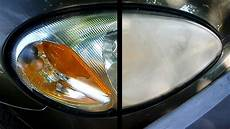 Light Oxidation On Car How To Restore Your Headlights Crystal Clear Youtube