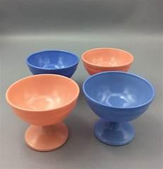 hazel atlas rainbow colored moderntone sherbets blue