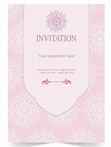 Pink Invitation Card Write The Sweetest Marriage Invitation Wordings To Invite