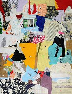 Cut That Out Contemporary Collage In Graphic Design Original Abstract Art Paper Collage Back In Business