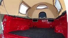 kodiak tent 7218 canvas truck tent for 8 foot bed