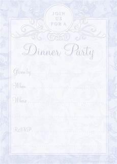 Dinner Invites Templates Free Free Printable Dinner Party Invites Printable Party Kits
