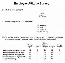 Attitude Survey Template Employee Surveys Are They Any Good The Empty Head
