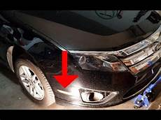Change Light Ford Fusion How To Replace The Sidemarker Lightbulb Parking Light On
