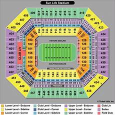 Hard Rock Miami Seating Chart Miami Dolphins Tickets 2017 Dolphins Tickets