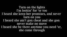 Stand In The Light Lyrics Future Turn On The Lights With Lyrics Youtube