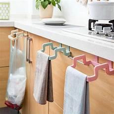 bathroom towel rack cupboard cabinet door back hanger