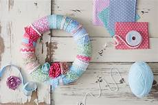 fabric crafts spring how to make a fabric wreath hobbycraft