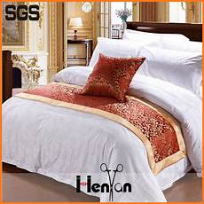 wholesale custom bed runners for hotels bed scarves and