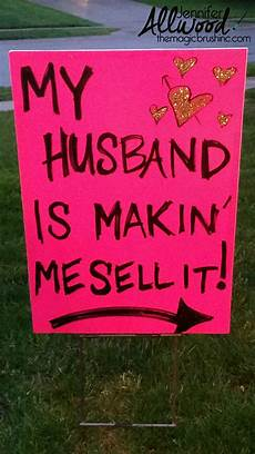How To Make A For Sale Sign How To Advertise For A Garage Sale With Clever Signs