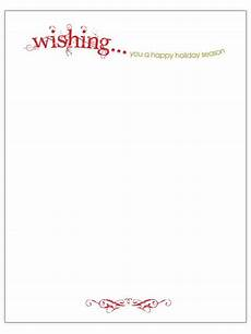 Holiday Letterhead Free Download 33 Free Templates To Help You Send Holiday Cheer
