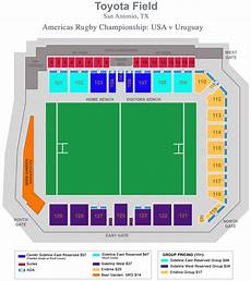 Toyota Field Seating Chart Eagles To Make First Ever Start In San Antonio For