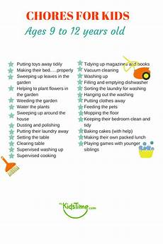 List Of House Chores 40 Chores For Kids Depending On Their Age
