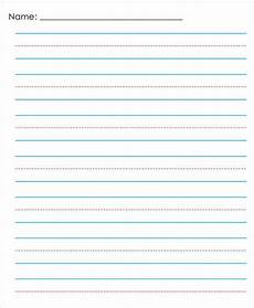 Kindergarten Paper Template 14 Lined Paper Templates In Pdf Free Amp Premium Templates