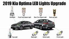 2019 Kia Optima Fog Lights 2019 Kia Optima Exterior Amp Interior Lights Upgrade To Leds