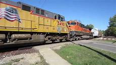 ttx railroad union pacific 5838 up 5490 bnsf 987 and qttx ttx