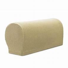set of 2 premium furniture armrest covers sofa chair