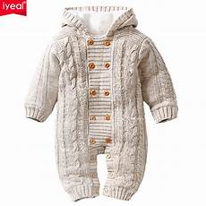 newborn winter clothes iyeal thick warm infant baby rompers winter clothes