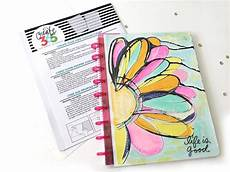 School Planner Cover Ideas Three Diy Custom Happy Planner Covers Using The Faux