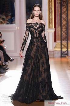 shining black bridesmaid gown for the beauty 2042207