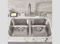 "Portsmouth 32 1/4"" Double Bowl Undermount Kitchen Sink   American Standard"